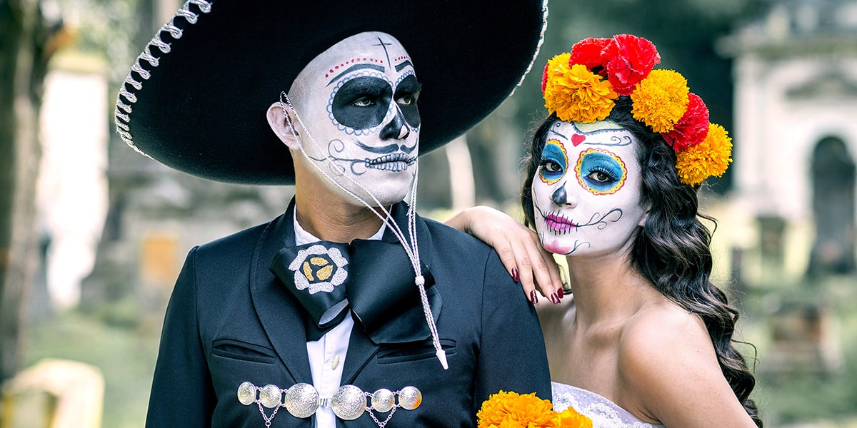 Day of the dead celebration in Mexico