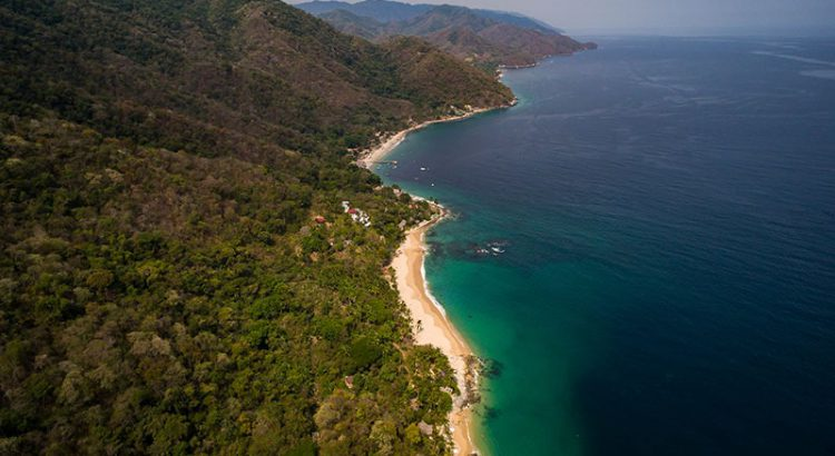 Aerial view of Las Animas Puerto Vallarta